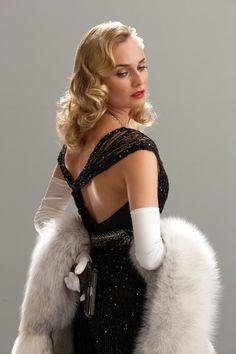 Diane Kruger's glamorous look in Inglorious Basterds.