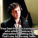 Love this scene. Sherlock is so proud to be John's best friend <<--D'awww :3<<same
