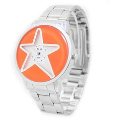 FW817GD New Shiny Silver Band-Round PNP Shiny Silver Watchcase Men Fashion Watch