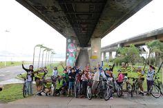 O Bike Anjo Floripa participou do projeto Bike Patulha, uma iniciativa da Policia Polícia Militar de Santa Catarina para educar as crianças a pedalarem no trânsito com segurança. Saiba mais: http://on.fb.me/1tsavrx