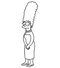 Marge Simpson Cute
