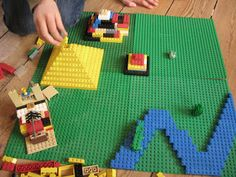 """Re-create geographical landmarks... with legos - my kids favorite """"Friday"""" way to learn"""