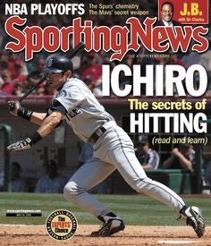 Ichiro, Sporting News (May 20, 2005) #Mariners