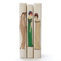 Restoration Warehouse Single Art Deco Woman Books