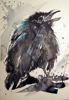 Crow Baby by Kovacs Anna Brigitta