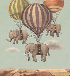 highflying elephants