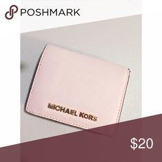 Michael Kors Wallet Micheal Kors Pink Wallet, small handheld wallet gently uses MICHAEL Michael Kors Bags Wallets