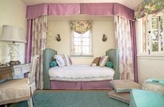 Design by Maya Williams Design for the Pasadena Showcase House using Stroheim's Quincy in Lavender.