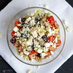 Seriously amazing Greek salad!