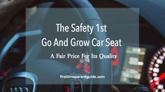 Looking at what parents like and dislike about The Safety 1st Go And Grow Convertible Car Seat, it seems that majority of the parents who got this seat like how comfortable their little ones are in the seat. It even is rated high for safety as it saved a child from an accident.  Don't get too excited. I thought I already found the perfect seat, too. LOL. There are a few things you have to take note of if you are looking into getting this seat.  Let's get started.