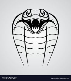 21 Realistic Snake Tattoo Drawing Ideas - 21 Realistic Snake Tattoo Drawing Ideas You are in the right place about 21 Realistic Snake Tattoo D - Snake Tattoo Meaning, Tattoos With Meaning, Retro Vector, Vector Free, Cobra Logo, King Cobra Tattoo, King Cobra Snake, Dragon Tattoo For Women, Fire Tattoo