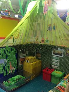 Image result for nature classroom theme. COuld also do something like this that looks like a Tipi