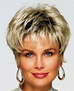 hairstyles for square faces over 40 - Google Search