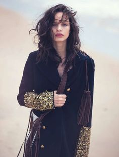 Go West   Marie Claire Italia November 2015   #LumaGrothe by #DavidBellemere #fashioneditorials