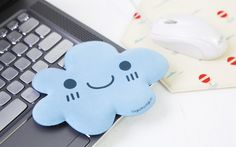 How sad is it that I could REALLY use this thing...Blue Cloud Elbow Cushion