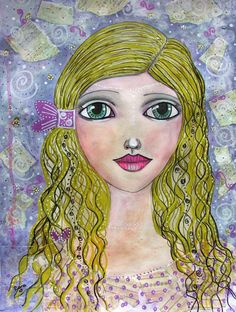 Buy Goldilocks, Drawing by Riana van Staden on Artfinder. Discover thousands of other original paintings, prints, sculptures and photography from independent artists. Original Art, Original Paintings, Watercolor Drawing, Paintings For Sale, Medium Art, Mixed Media Art, Pencil Drawings, Buy Art, Paper Art