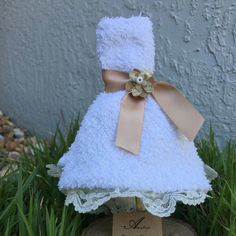 A personal favorite from my Etsy shop https://www.etsy.com/listing/228336534/rustic-wedding-washcloth-favors-5-per