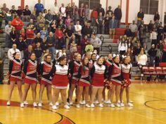 2014 Mechanicville Red Raiders Basketball Cheerleaders!!
