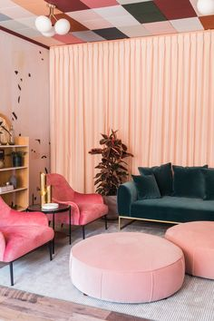 {Furniture Collection- King Living, Sofas, Bedroom, Dining and Outdoor Living Room Chairs, Living Room Decor, Living Room Furniture, Dining Chairs, Boutique Interior, Art Deco Home, Pink Room, New Room, Furniture Decor
