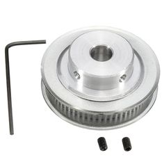 Aluminum Printer Timing Belt Pulley Belt Pulley with Bore for RepRap Printer Printing Supplies, 3d Printer Supplies, 3d Printing, E Book Reader, Arduino, Date Night Gifts, Gadgets, Bedroom Decor For Couples, Girls Mirror