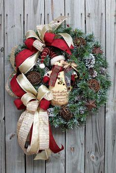 ЗАЗЕРКАЛЬЕ: Вдохновение. Рождественские венки.