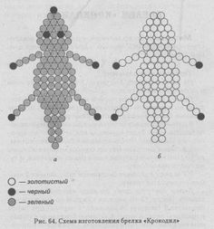 Seed Bead Patterns, Beading Patterns, Xmas Crafts, Crafts For Kids, Beaded Animals, Kandi, Seed Beads, Glass Beads, Crochet Necklace