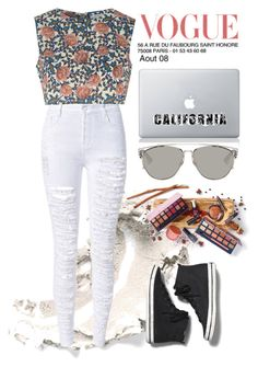 """Untitled #19"" by tazkiasaras on Polyvore featuring Glamorous, Keds, Vinyl Revolution and Christian Dior"