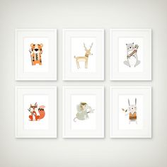 animal prints tribal animals tribal prints by LovePaperRainbow