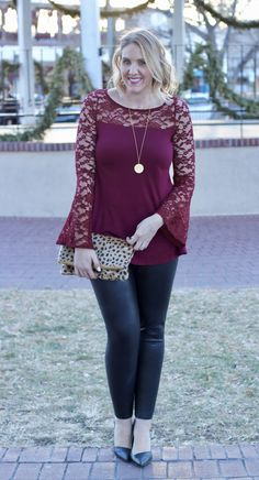 lace top holidays