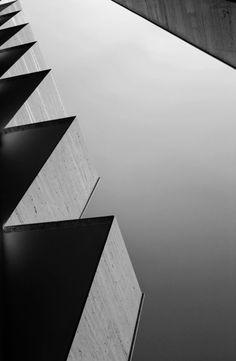 black-and-white:    random architecture  by thailaun