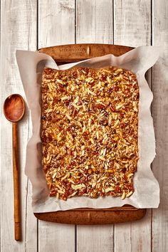 Nut & Seed Brittle by The Messy Baker