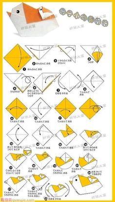 Origami Little Bird