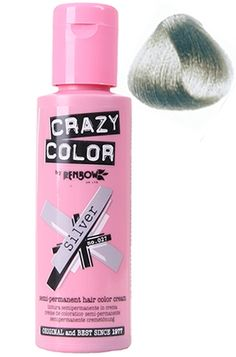 Crazy Color - Silver Hair Colour