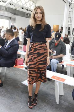 Giorgia Tordini Photos: Tanya Taylor - Front Row - Mercedes-Benz Fashion Week Spring 2015