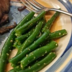 Heat's Kitchen: Citrus Green Beans