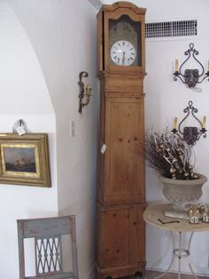French Grandfather clock Trouvé // Antiques Home Garden // Phoenix AZ, Carmel CA Case Pieces  
