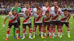 River Plate. Formación inicial ante Boca Resultado final 1-2 para River