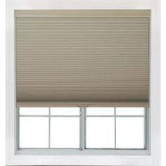 Redi Shade 20.125-In W X 72-In L Khaki Blackout Cellular Shade Z14c201