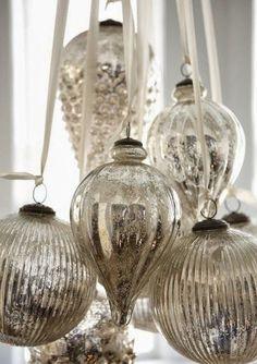 182 Best Mercury Glass Images Mercury Glass Vintage Christmas