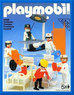Playmobil hospital (I still have it !)