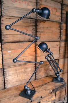 Beautiful french industrial Jielde lamp –We collect similar unique beauties – Only/Once – www.onlyonceshop.com