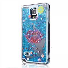 Note 4 Cute Liquid Glitter Sand Star Case Fundas For Samsung Galaxy Note 4 N9100 Crystal Clear phone Back Cover Coque Quicksand //Price: $US $3.49 & FREE Shipping //     #apple