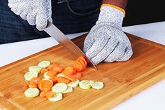 Utopia Kitchen – High Quality and Affordable While they are made of HPPE and stainless steel, the Utopia Kitchen gloves are still machine washable and ambidextrous. If you are not totally confident in a glove made of synthetic materials, you may feel safer with these.  They have been used in all sorts of risky projects, like making knives, installing barbed-wire fencing, and even for playing with nippy dogs! Despite the metal woven into them, the Utopias are still very flexible and…