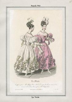 La Mode März 1832