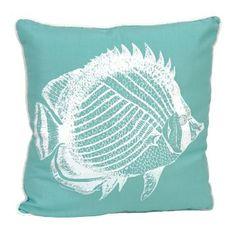Beaded Fish Pillow | Kirklands