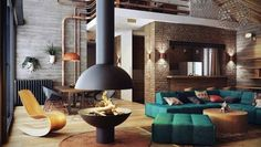 21 | Industrial Loft | Small Space | Studio Apartment | Interior Design