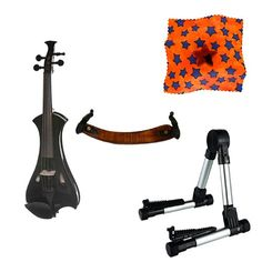 Meisel Electric Violin Pack Black w/Silver Stand, Tuner & Star Rosin Meisel Violins http://www.amazon.com/dp/B00VH5BJVG/ref=cm_sw_r_pi_dp_wjRpvb11VC1ED
