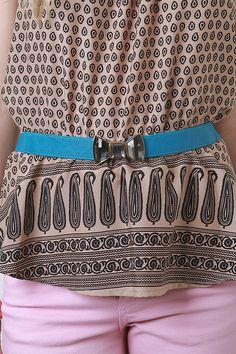 Sparkling Bow Belt