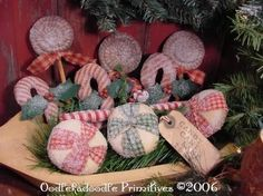 Primitive Christmas Patterns | this auction is for an oodlekadoodle primitives original design and is ...