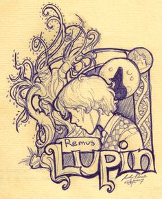 Remus Lupin by Lupis-Fox (Amelia Davis) via DeviantArt